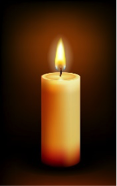 This image has an empty alt attribute; its file name is Candle.png